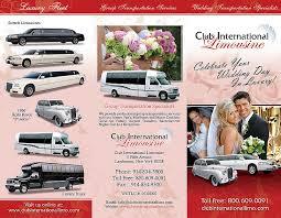 Limousine Brochures Printing Design Limo Brochure Printing