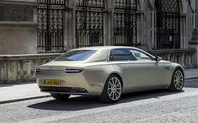 Aston Martin Lagonda More Exclusive Than Any Rolls Royce Or Bentley