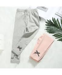 New Girls Embroidered Leggings Fashion Korean Leggings Spring Wild Wear Pants