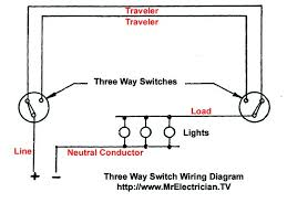 wire a 3 way switch three way switch wiring diagram