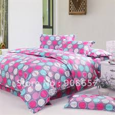 blue and pink dot bedding pictures to pin on pinsdaddy