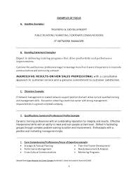 Resume With Branding Statement Resume Personal Branding Statement Examples Sample Profile