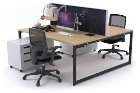 office workstation desk. delighful desk litewall evolve  a modern office workstation desk for 2 people 1200l  x 800w to i