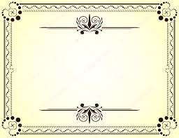 Vector Plantillas De Diplomas En Blanco Certificado Vector De