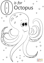 Small Picture O is for Octopus coloring page Free Printable Coloring Pages