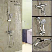 shower faucet with temperature control chrome dual handle shower faucet temperature control shower mixer taps 8 shower faucet with temperature control