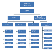 Ge Organizational Chart Organizational Structures And Their History Organizational