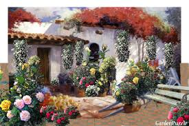 Small Picture GardenPuzzle project BELLA SPANISH COTTAGE