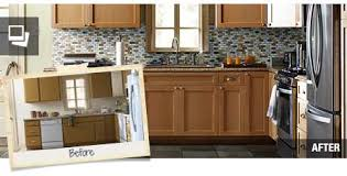 home depot cabinet refacing before and after. Plain Before Kitchen Modest Home Depot Cabinet Refacing On Crafty Fresh  Decoration In Before And After R
