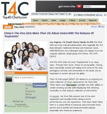 Viva Girls On Top40 Charts Com Domo Blog