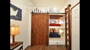 Built In Bunk Beds 32 Tiny House Has Built In Bunk Beds For The Kiddos Youtube