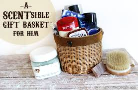 diy valentines day gift baskets for him