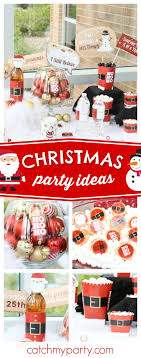 Santa's coming!! Check out this fun Christmas party! The photo booth props  are