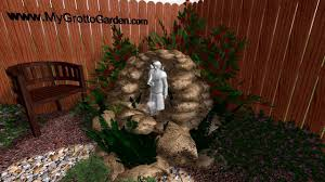 Small Picture 3D Garden Grotto Design Brown Rock Grey Statue Fountain YouTube