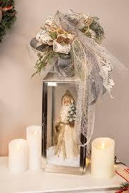 Fabulous christmas decoration ideas using candles Festive Christmas Bow Decorative Lantern Merry Christmas 2019 Top Christmas Lantern Decorations To Brighten Up The Holiday