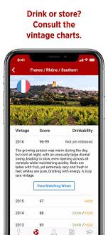 Wine Spectator Vintage Chart 2016 Wineratings By Wine Spectator On The App Store