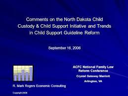 Va Child Support Chart Comments On The North Dakota Child Custody Child Support