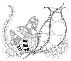 Small Picture Printable Zendoodle Coloring Page by capturingstarlight on Etsy