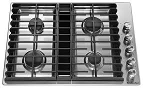 36 inch gas cooktop with downdraft. Perfect Inch KitchenAid Gas Cooktop With Downdraft Exhaust Stainless Steel Common  30in To 36 Inch With 3