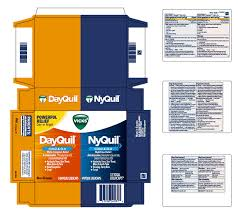 Vicks Dayquil And Vicks Nyquil Cold And Flu Multi Symptom