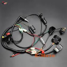 chinese wiring harness wiring diagram meta complete electrics wiring harness d8ea spark plug cdi ignition coil chinese quad wiring harness chinese wiring harness