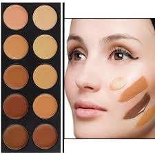 1set 10 color makeup concealer palette camouflage matte primer makeup cosmetic foundation base make up worldwide kle under