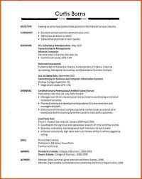 College Student Resume No Experience Cover Letter Job