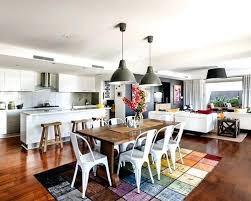 open kitchen dining room designs.  Designs Kitchen Dining Living Room Ideas Amusing Open Plan  Designs In On Flooring   Throughout Open Kitchen Dining Room Designs
