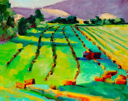 Sunrise on Rodney's Fields — Anne Laddon