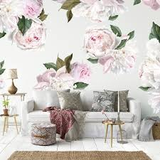 Small Picture Peonies Peony Wall Decals Urban Walls