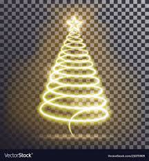 Gold Tree Lights Golden Christmas Tree Light Tree Effect With Big