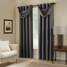 Window Curtain For Living Room Paradise Room Darkening Grommet Top Window Curtain Panel And