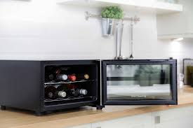 Table Drinks Cooler Russell Hobbs Rh8wc1 8 Bottle Digital Wine Drinks Cooler Black