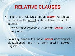 Relative clauses begin with one of these relative pronouns: Ppt Relative Clauses Powerpoint Presentation Free Download Id 4876078