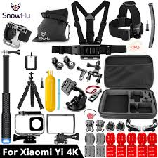 <b>SnowHu For Xiaomi Yi</b> Accessories set 45M Diving Sport Waterproof ...