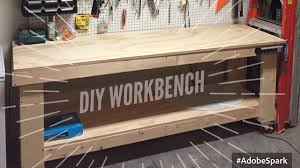 diy wood workbench how to build a wood tool workbench for your garage