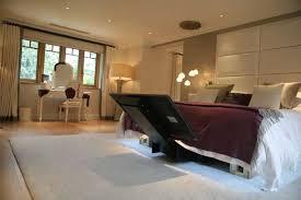 bed mechanized tv swing mounts