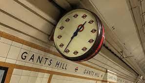 vintage london underground clocks to be