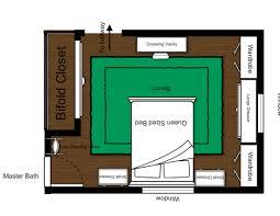 Elegant Designing Bedroom Layout