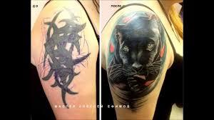 тяжолый случай перекрытие старой татуировки