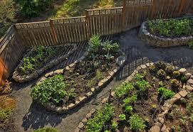 maintain a garden rock border