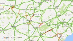 you can literally see the path of totality on google maps traffic