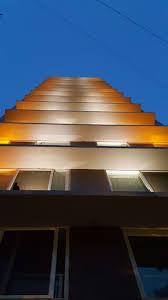 building facade lighting. Vaswani Sea-Garden Building Facade Lighting