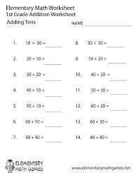 math worksheets go 1st grade adding tens worksheet printable mixed review answers evaluatingions composition of quadratic