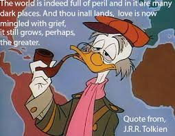 Cartoon Quotes Magnificent Von Drake Quotes Tolkien By Troyodon On DeviantArt