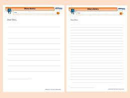 diary entry template oyle kalakaari co