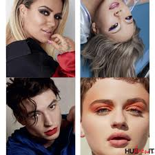 lizzo pictured above karol g cl ezra miller and joey king star in the caign and will front uping urban decay launches throughout the year