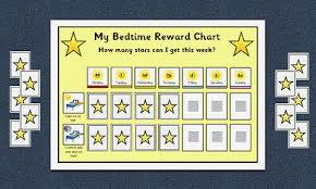 Bedtime Routine Schedule Reward Chart Bundle Morning
