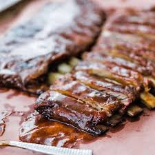 cook smoked st louis style ribs recipe