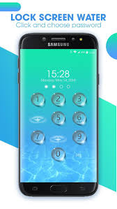 Lock Screen Water Live Wallpaper V131 For Android Apk